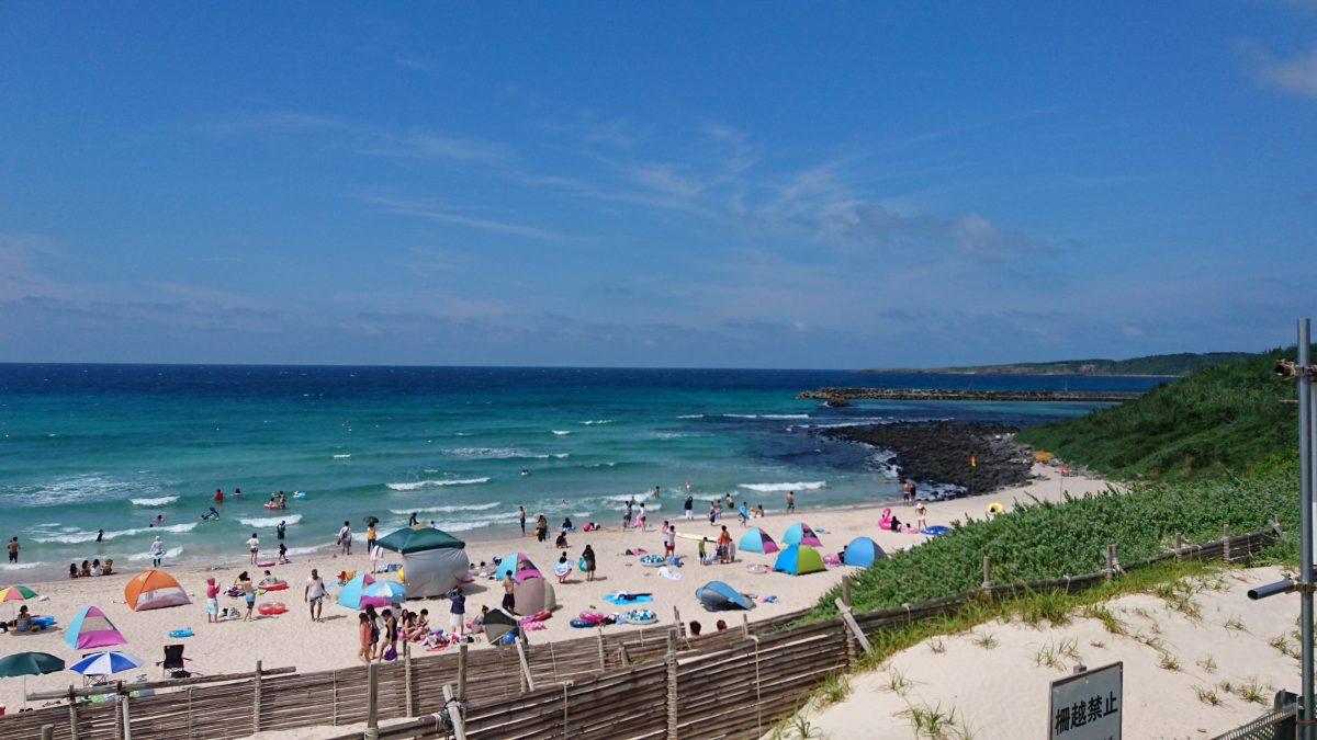 夏本番!角島の海をご覧あれ!